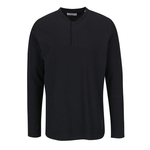 Bluză neagră Lindbergh din bumbac