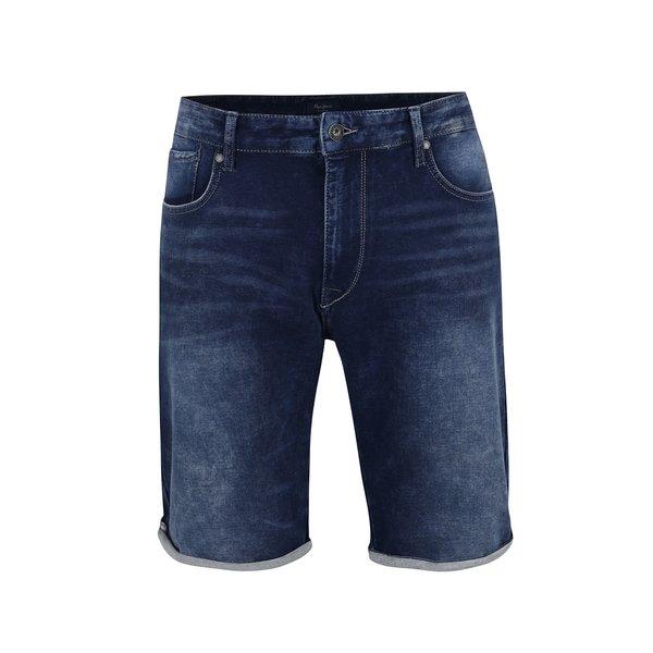pantaloni scurți albaștri Pepe Jeans Cage din denim de la Pepe Jeans in categoria Blugi, pantaloni, pantaloni scurți