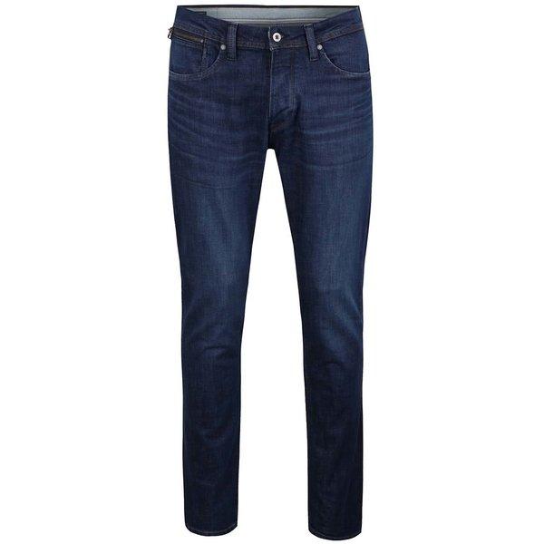Blugi albaștri Pepe Jeans Cash cu aspect ușor prespălat