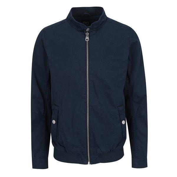 Jachetă albastu închis Lindbergh din bumbac