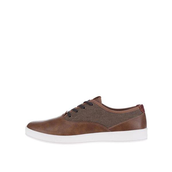Pantofi maro din piele ALDO Yilan pentru bărbați de la ALDO in categoria pantofi sport și teniși