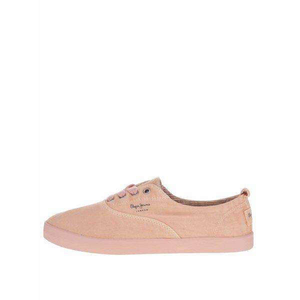 Pantofi sport roz prăfuit Pepe Jeans Julia Monocrome
