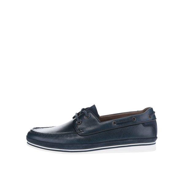 Mocasini bleumarin din piele ALDO Fetsch pentru bărbați de la ALDO in categoria pantofi și mocasini