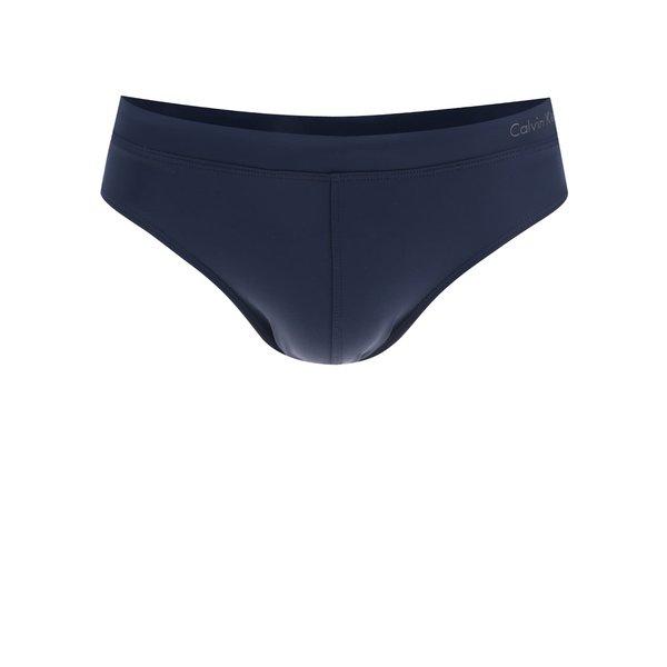 Slip de baie albastru cu logo Calvin Klein de la Calvin Klein in categoria Lenjerie intimă, pijamale, șorturi de baie