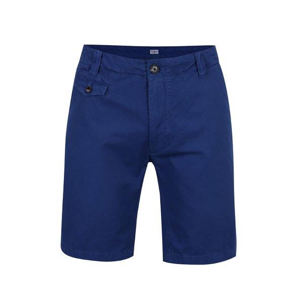 Pantaloni scurți chino albaștri Pepe Jeans Scott de la Pepe Jeans in categoria Blugi, pantaloni, pantaloni scurți