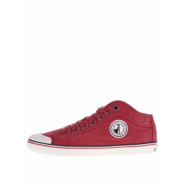 Pantofi sport roșii Pepe Jeans Industry Road cu model discret de la Pepe Jeans in categoria pantofi sport și teniși