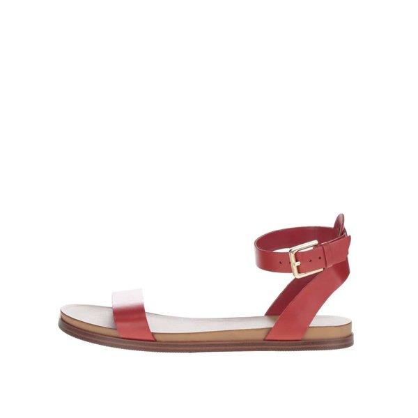 Sandale roșii ALDO Gwenna din piele