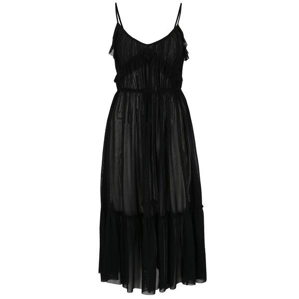 Rochie neagră Miss Selfridge din tulle de la Miss Selfridge in categoria rochii de vară și de plajă