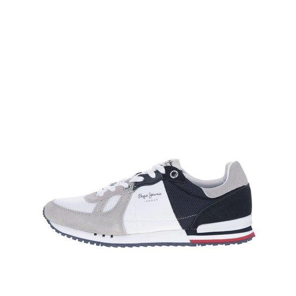 Pantofi sport albastru&alb Pepe Jeans Tinker Jack