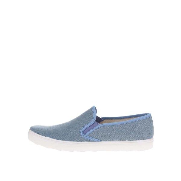 Pantofi albaștri slip-on pentru femei OJJU