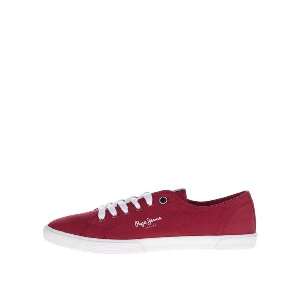 Pantofi sport roșii Pepe Jeans Aberman de la Pepe Jeans in categoria pantofi sport și teniși