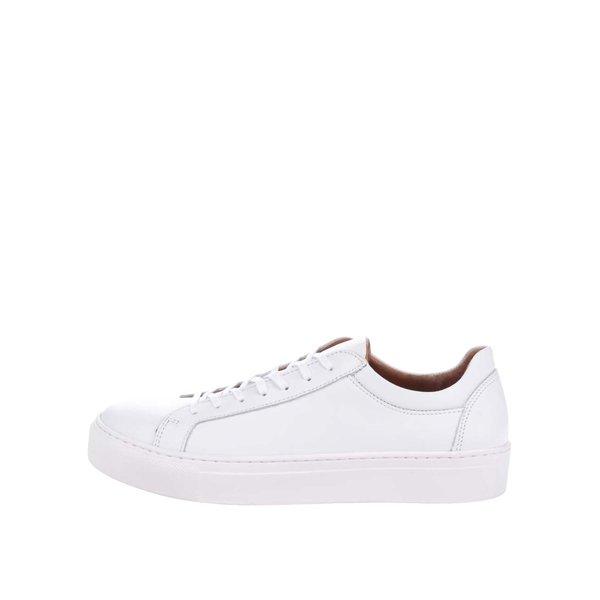 Pantofi sport albi Selected Femme Donna din piele de la Selected Femme in categoria pantofi sport și teniși