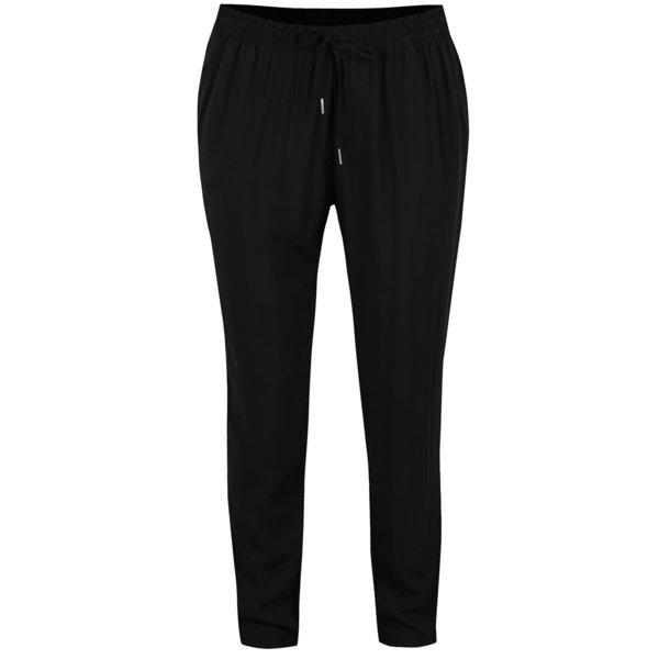 Pantaloni conici negri ONLY Nova de la ONLY in categoria Blugi, pantaloni, colanți