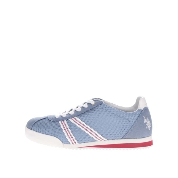 Teniși albastru deschis U.S. Polo Assn. Rene pentru femei de la U.S. Polo Assn. in categoria pantofi sport și teniși