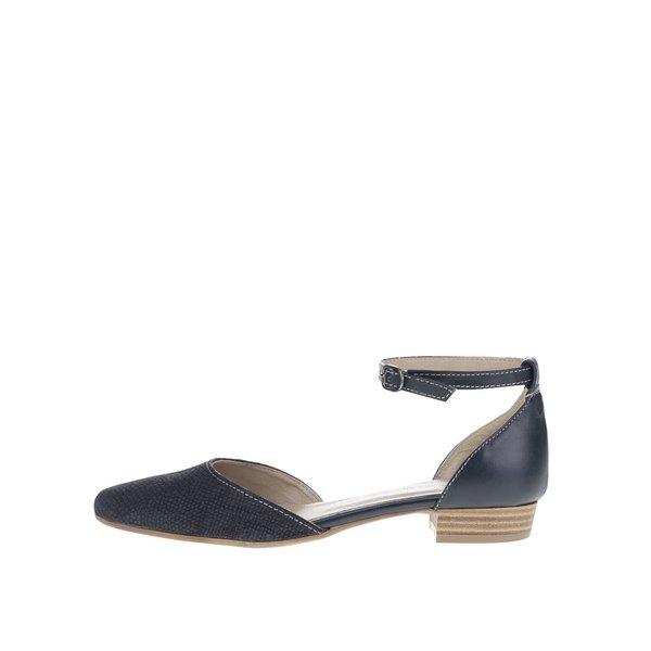 Sandale albastru închis Tamaris din piele de la Tamaris in categoria sandale