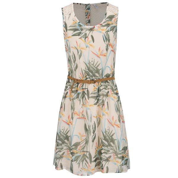 Rochie bej ONLY Lia cu imprimeu floral de la ONLY in categoria rochii de vară și de plajă