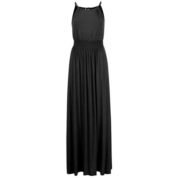 Rochie maxi neagră ONLY Amelie