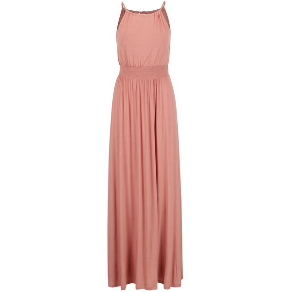 Rochie maxi roz pal ONLY Amelie