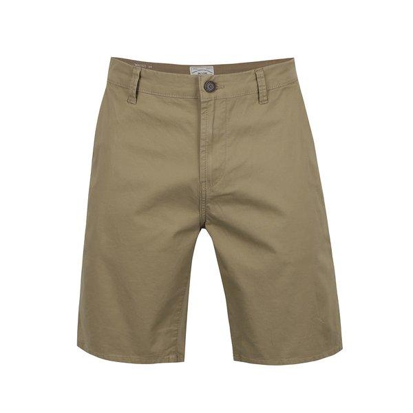 Pantaloni chino scurți kaki ONLY & SONS Holm