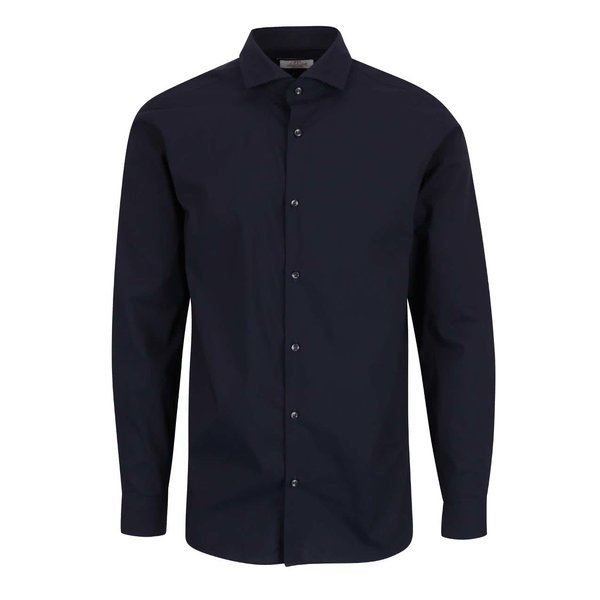 Cămașă albastru închis Jack & Jones Michael slim fit