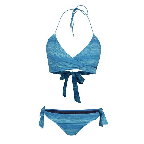 Costum de baie albastru Bench cu model în dungi de la Bench in categoria Lenjerie intimă, pijamale, costume de baie