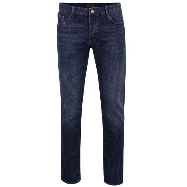 Blugi albaștri Cross Jeans Tapered cu croi drept