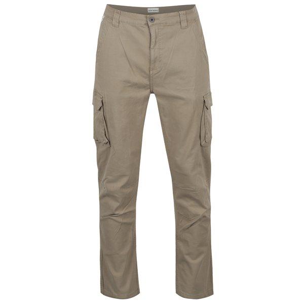 Pantaloni cargo bej Shine Original cu buzunare laterale de la Shine Original in categoria Blugi, pantaloni, pantaloni scurți