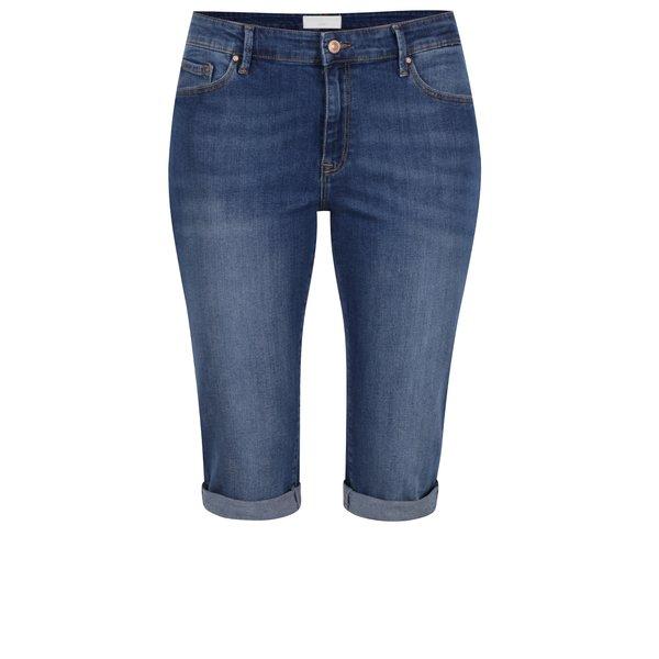 Pantaloni scurți albaștri Cross Jeans din denim de la Cross Jeans in categoria Blugi, pantaloni, colanți