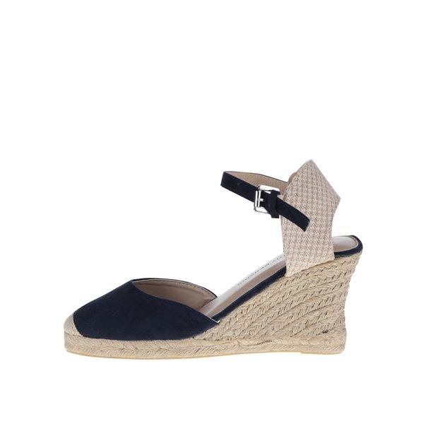 Sandale crem&albastru Dorothy Perkins de la Dorothy Perkins in categoria pantofi cu platformă