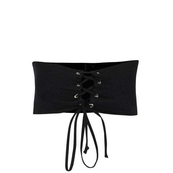 Corset negru cu șiret VERO MODA Corsage de la VERO MODA in categoria Accesorii