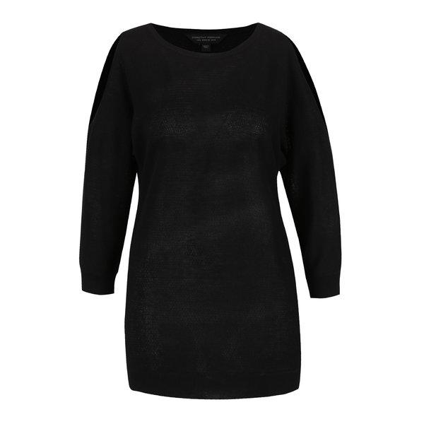Bluză neagră Dorothy Perkins din jerseu subțire
