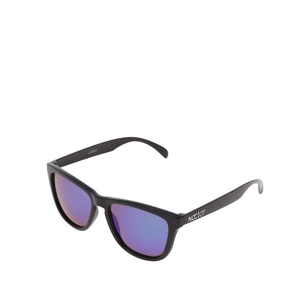 Ochelari de soare negri Nectar Waifarer cu lentile albastre pentru bărbați de la Nectar in categoria Accesorii