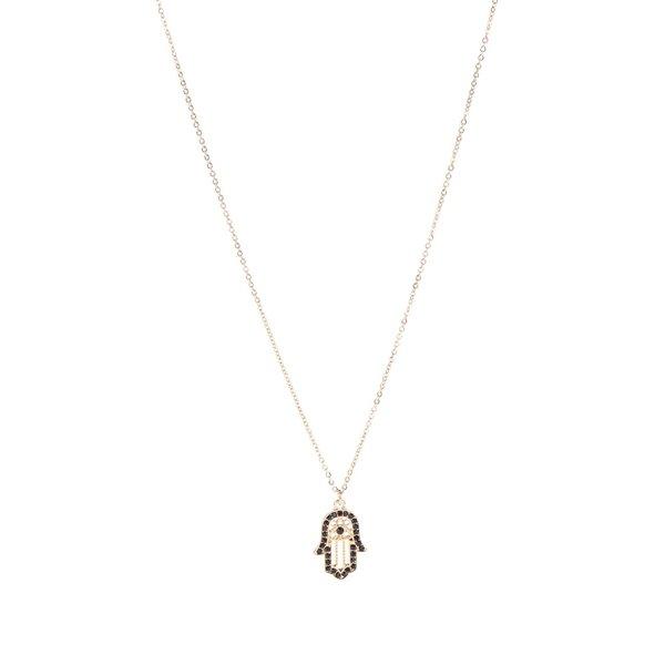 Colier auriu Pieces Ebba cu pandantiv de la Pieces in categoria Ceasuri și bijuterii
