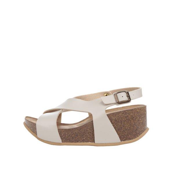 Sandale crem OJJU cu platformă de la OJJU in categoria sandale