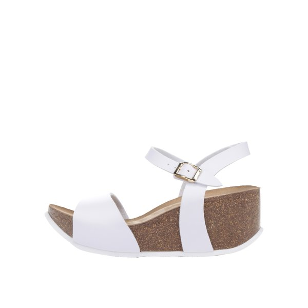 Sandale albe OJJU cu platformă de la OJJU in categoria sandale