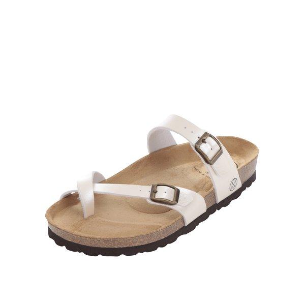 Papuci crem OJJU cu barete încrucișate de la OJJU in categoria sandale