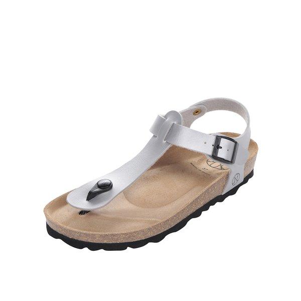 Sandale gri OJJU cu talpă comodă de la OJJU in categoria șlapin