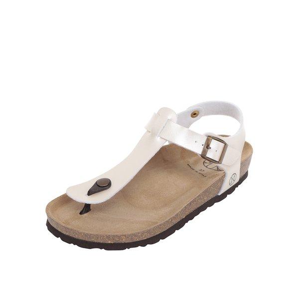 Sandale crem OJJU cu talpă comodă