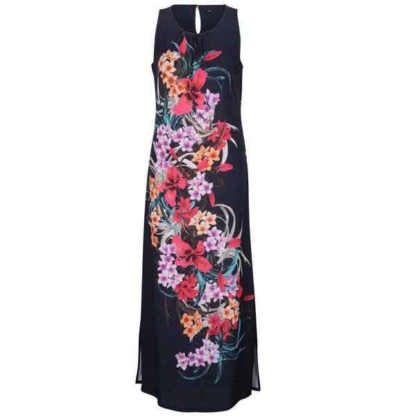 Rochie maxi albastru închis M&Co cu model floral de la M&Co in categoria rochii de vară și de plajă