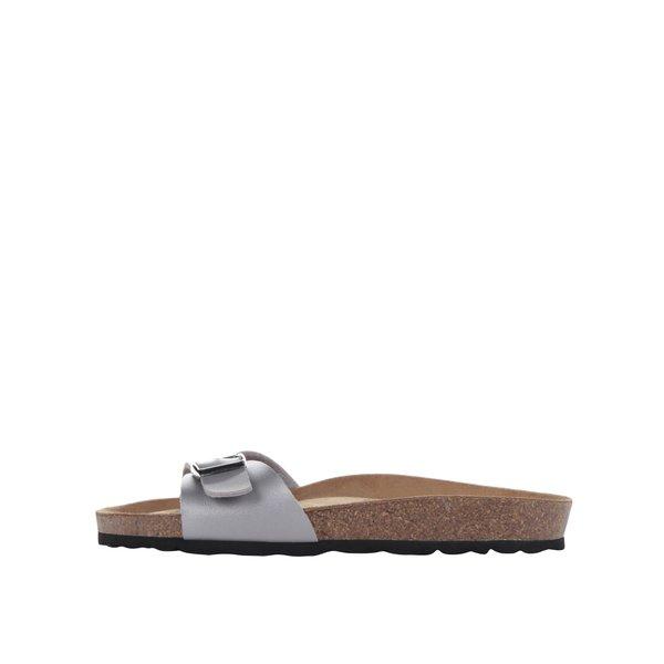 Papuci gri OJJU cu cataramă metalică de la OJJU in categoria șlapin