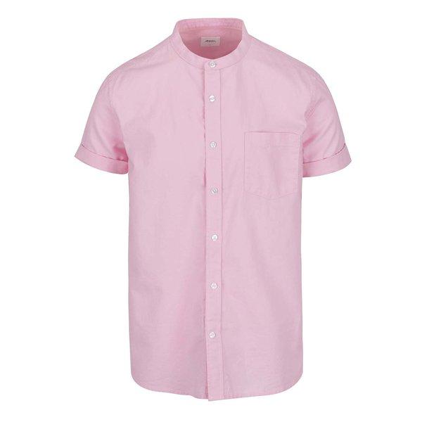 Cămașă roz pal Burton Menswear London din bumbac