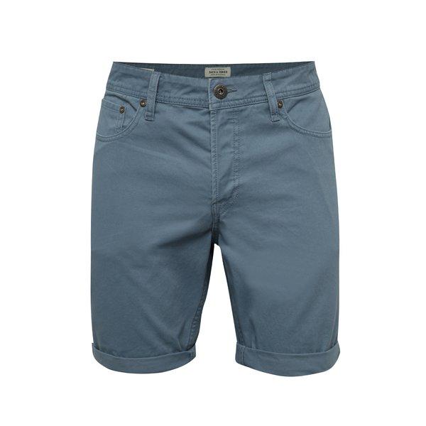 Pantaloni scurți bleu Jack & Jones Rick din denim de la Jack & Jones in categoria Blugi, pantaloni, pantaloni scurți
