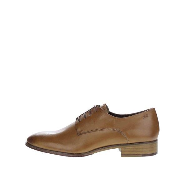 Pantofi maro deschis London Brogues Wister Derby din piele de la London Brogues in categoria pantofi și mocasini