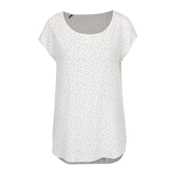 Tricou crem cu inserție de dantelă ONLY Nova de la ONLY in categoria tricouri