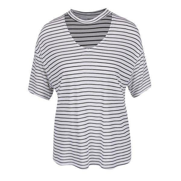 Tricou alb&negru TALLY WEiJL cu model în dungi de la TALLY WEiJL in categoria Topuri, tricouri, body-uri