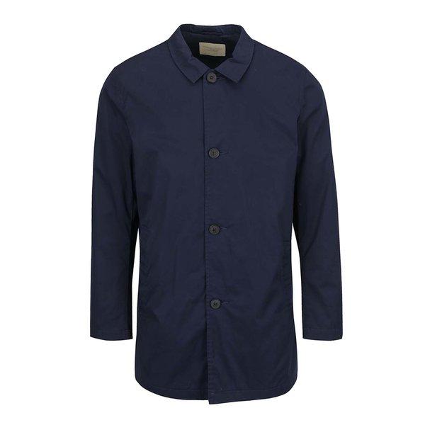 Palton albastru inchis Selected Homme Mash