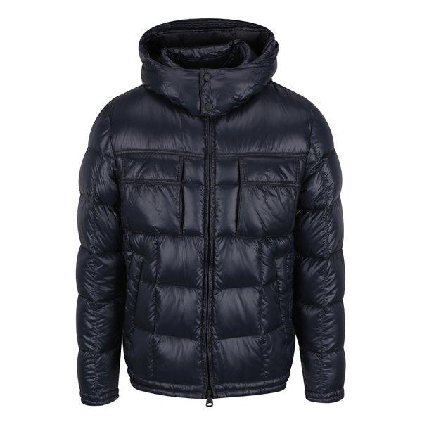 Geacă matlasată impermeabilă bleumarin Geox Down de la Geox in categoria Geci, paltoane, jachete