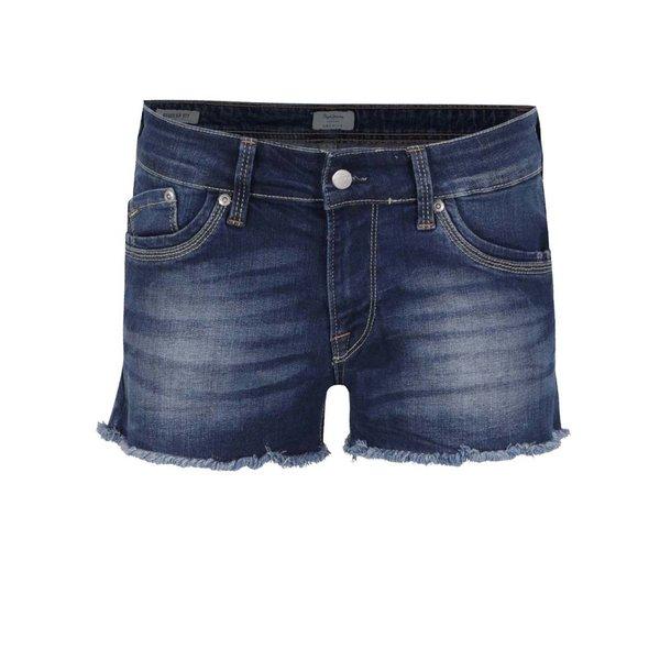 Pantaloni scurți albaștri din denim Pepe Jeans Twigs de la Pepe Jeans in categoria Blugi, pantaloni, colanți