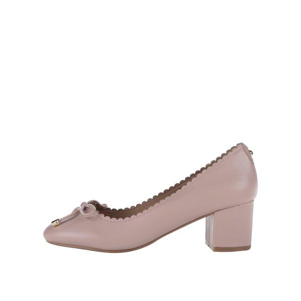 Pantofi roz cu toc gros Dorothy Perkins de la Dorothy Perkins in categoria pantofi cu toc