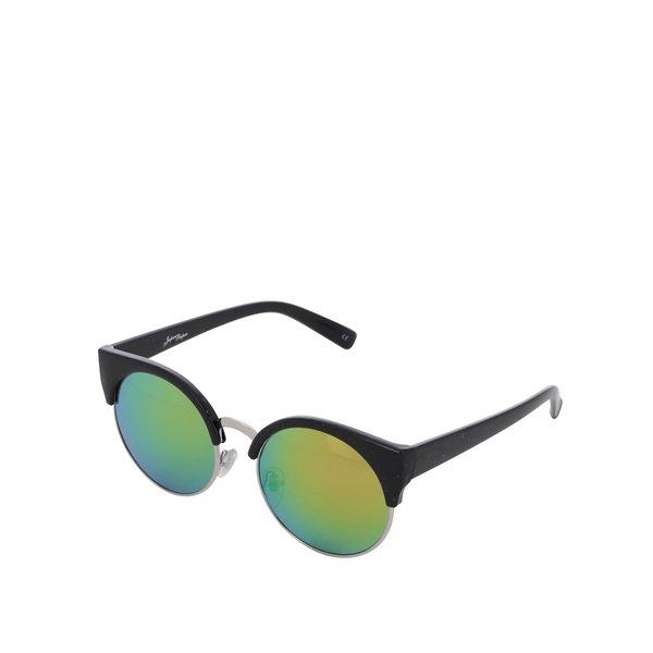Ochelari de soare negri Jeepers Peepers cu lentile verzi în degrade de la Jeepers Peepers in categoria Accesorii